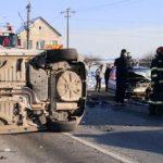Accident la ieșirea din Arad spre Vladimirescu. O persoană a decedat şi două au fost rănite