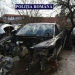 Polițiștii au găsit în Arad un atelier de dezmembrări auto neautorizat