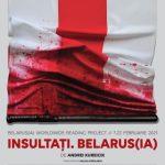 """Spectacol-lectură. Teatrul Clasic """"Ioan Slavici"""" Arad – solidar cu artiștii din Belarus"""