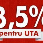 """A început campania """"3,5 la sută pentru UTA""""!"""
