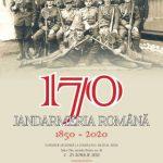 """Expoziția """"Jandarmeria Română 1850 – 2020"""" la Sala """"Clio"""" a Complexului Muzeal Arad"""