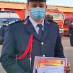 Malița Ioan – pompierul de onoare al anului 2020 al ISU Arad