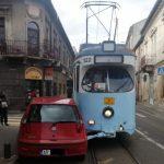 Coliziune între un autoturism și un tramvai, în centrul Aradului