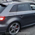 Autoturism căutat pentru confiscare în Spania, depistat la PTF Nădlac II