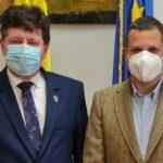 Consulul onorific al Austriei s-a întâlnit cu președintele Consiliului Județean Arad