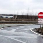 Breteaua de acces pe A1 aflată înainte de oraşul Nădlac, închisă pentru traficul greu