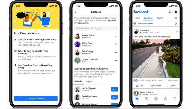 Facebook lansează două alternative la newsfeed-ul clasic