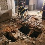 """Incendii în clădirea """"Indagrara"""", provocate de persoane fără adăpost"""