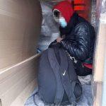 Migranți descoperiţi ascunşi într-un camion care ieşea din ţară prin PTF Nădlac II