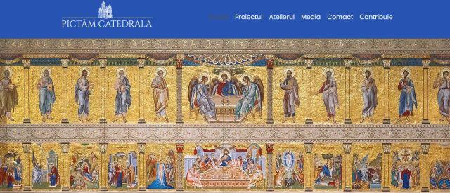 Pictamcatedrala.ro – platformă de sprijin pentru pictarea Catedralei Naţionale
