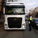 Sancțiuni pentru șoferii care nu au respectat resticțiile de trafic, în municipiul Arad