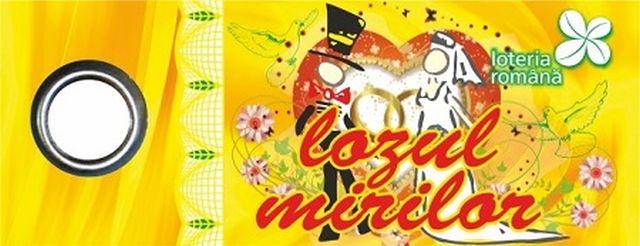 """Loteria Română lansează o nouă ediţie """"Lozul mirilor"""""""