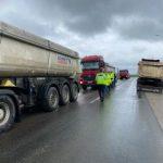 Controale mai riguroase la vehiculele cu gabarit mare, pe drumurile județene din Arad