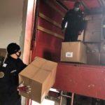 Misiune umanitară realizată de ISU Arad