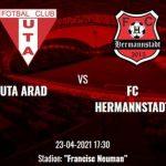 """Eugen Beza (FC Hermannstadt), înainte de meciul cu UTA: """"Vom încerca să câştigăm"""""""