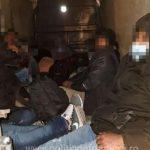 22 de migranți, depistați de polițiștii de frontieră arădeni