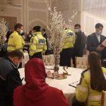 Nuntă întreruptă de polițiștii arădeni. Participanții și administratorul localului, amendați