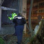 Locuri în care înnoptează oamenii străzii, identificate de polițiștii locali din Arad