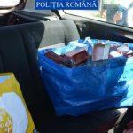 Dosar penal. Țigări de contrabandă, descoperite într-o mașină la Bodrogu Nou