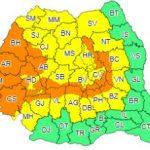 Avertizare meteo. Cod portocaliu de ploi abundente în Banat și Crișana