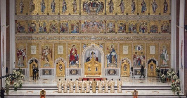 Cel mai mare iconostas ortodox din lume, la Catedrala Mântuirii Neamului