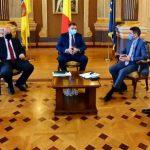 Primarul Aradului a avut o întâlnire cu ministrul Dezvoltării