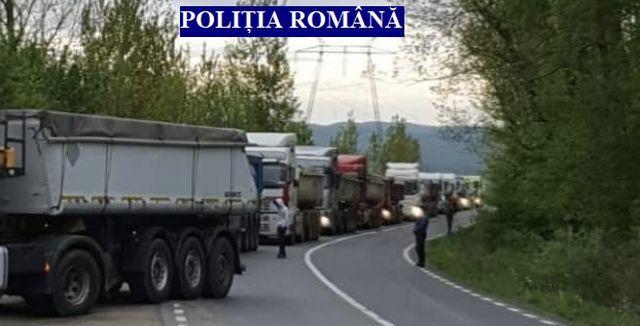 Acțiune pentru verificarea tonajului, pe drumurile județene din Arad