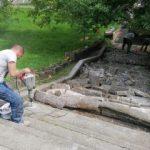 Primăria Arad a început reabilitarea treptelor de pe Faleza Mureșului