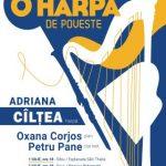 """Concertul """"O harpă de poveste"""" va avea loc în sala de concerte de la Palatul Cultural"""