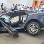 Accident la Șiria. Mai multe persoane au fost rănite și transportate la spital