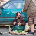 Tarabe gratuite pentru persoanele în vârstă din Arad care vând legume sau flori pentru a supravieţui