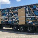 Automarfare cu peste 100.000 kg de deșeuri, oprite să intre în Romania