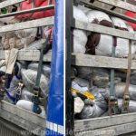 Peste 17 tone de deşeuri de aluminiu, descoperite la PTF Nădlac II