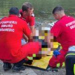 Tânăr înecat în Crișul Alb. Scafandrii l-au căutat mai multe ore