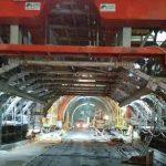 Tunelul feroviar de la Bata ar putea fi gata anul viitor