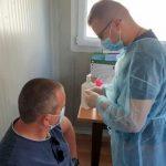 A început vaccinarea la PTF Nădlac II. Imunizarea se face cu ser Johnson&Johnson