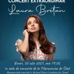 Laura Bretan, acompaniată de pianistul Larei Fabian, în concert la Arad