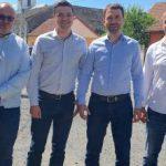 Ministrul Transporturilor, Cătălin Drulă, vizită în județul Arad