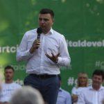 Sergiu Bîlcea, ales președinte al organizației municipale a PNL Arad