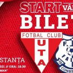 Se vând bilete pentru meciul UTA Arad – Farul Constanța