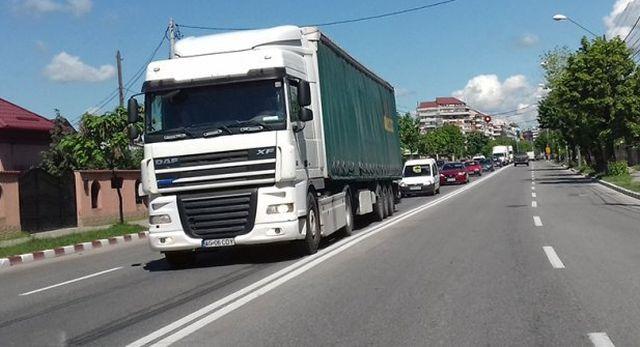 Restricţii de circulaţie pe drumurile naționale, din cauza caniculei