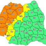 Avertizare meteo. Cod portocaliu de instabilitate atmosferică, în județul Arad