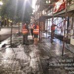 Arterele mari din municipiul Arad, spălate cu detergenți ecologici