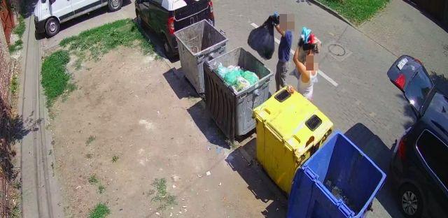 Containerele de gunoi din Arad, monitorizate video. Aruncarea deşeurilor neconforme, sancționată