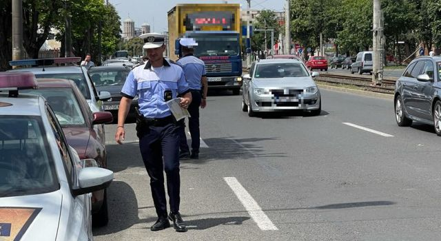 Polițiștii în trafic. Acțiune desfășurată în municipiul Arad