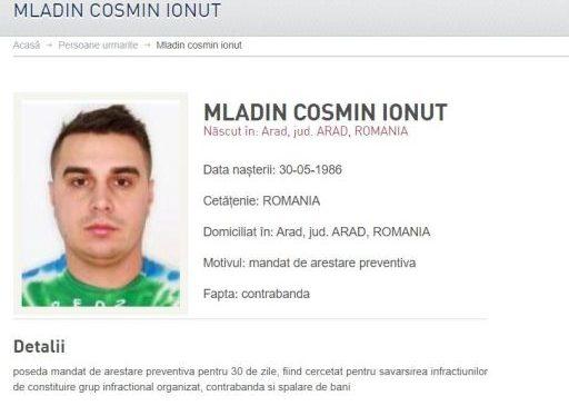 Lider al contrabandiştilor de ţigări din Arad, prins de poliţişti