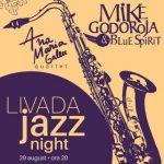 Mike Godoroja & Blue Spirit, la Livada Jazz Night