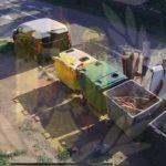 Surprinși în timp ce abandonau deșeuri pe domeniul public, în Arad