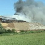 Incendiu lichidat. ISU Arad a retras forțele de intervenție de la groapa de gunoi