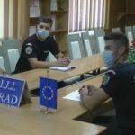 Elevi de la Școli Militare de Subofițeri Jandarmi, stagiu de practică la Jandarmeria Arad